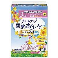 ユニチャーム チャームナップ 吸水さらフィ パンティライナー コンパクト ローズの香り 44枚 まとめ買い(×36)