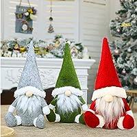 侏儒毛绒装饰圣诞