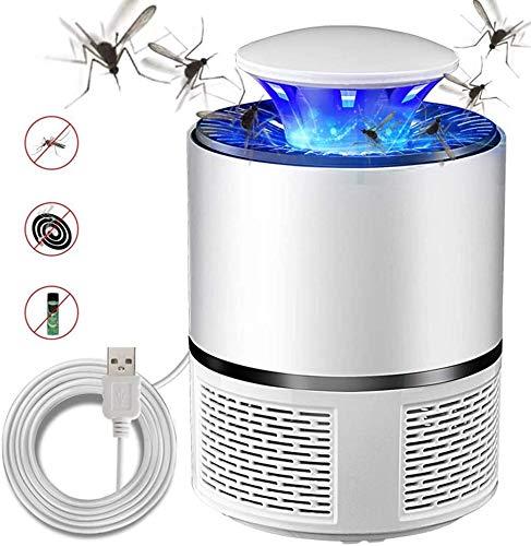 Lámpara fotocatalizadora antimosquitos, lámpara silenciosa doméstica USB repelente de...