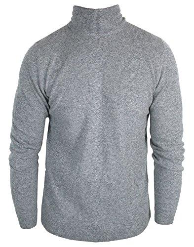 BOSS Tailored Rollkragen-Pullover | Eldorado 50299172 grau