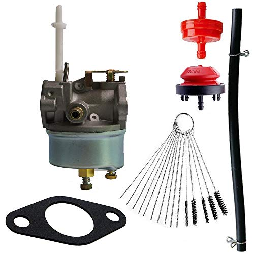 Syrace 631954 Carburetor Compatible with Tecumseh 632371 632371A H70 & HSK70 7hp ARIENS Toro SNOWKING Snow Thrower Blowers Toro Ariens 724 ST724 with Gasket Cleaning Tools
