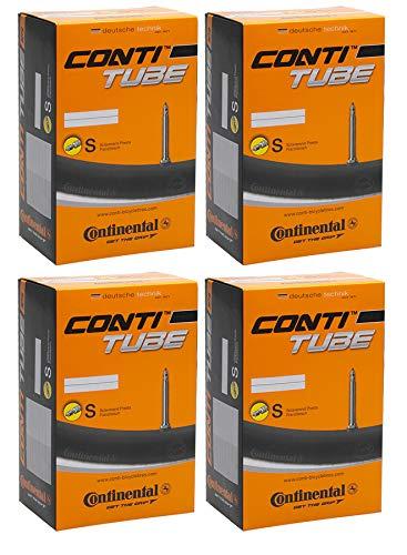 """Continental MTB Lot de 4 chambres à air en butyle 27,5"""" 650B"""