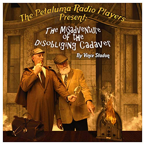 The Misadventure of the Disobliging Cadaver audiobook cover art