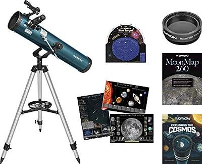 Orion 21100 SpaceProbe II 76mm AZ Beginner Telescope Kit