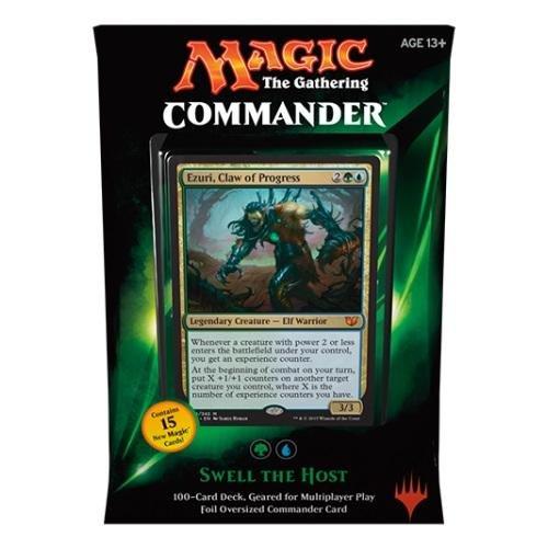 Magic - MTG Commander Deck 2015 – Swell the host (grün) ENGLISCH