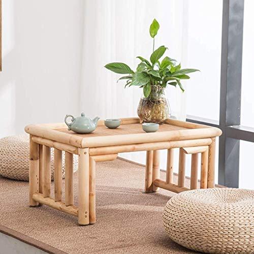 Goede Tv-staande lamp telefoontafel sofa bijzettafel eiken tafel salontafel woonkamermeubels tafels woonkamer solide tafel bed computertafel kleine tafel, hoge capaciteit (kleur: tafelmaat: 60 80 * 40 * 30 cm hout