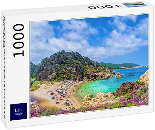 Lais Puzzle Paesaggio della Costa Paradiso con la Spiaggia Li Cossi, Sardegna 1000 Pezzi