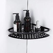 Badkamer hoekrek ruimte aluminium badkamer rek gratis punch dubbel toilet opbergrek