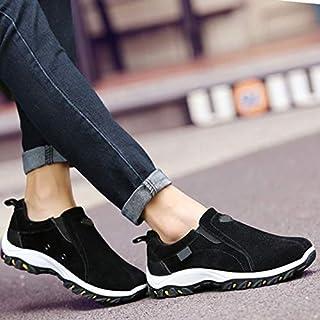 Syfinee Zapatos de senderismo antideslizantes resistentes al desgaste para hombre,Zapatillas de trail Running Zapatos,Trek...