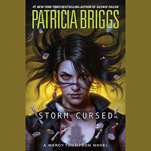 Storm Cursed audiobook cover art