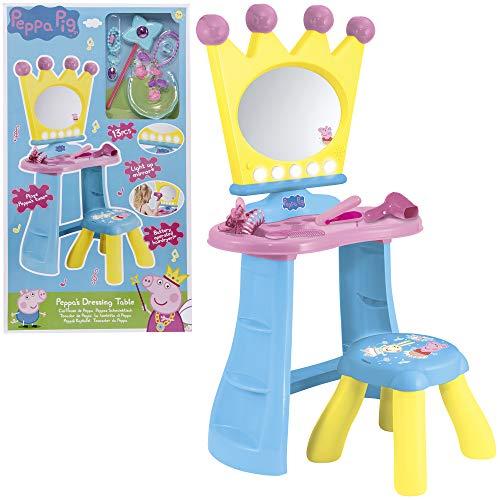 HTI Peppa Pig - Juego de tocador y accesorios para niños