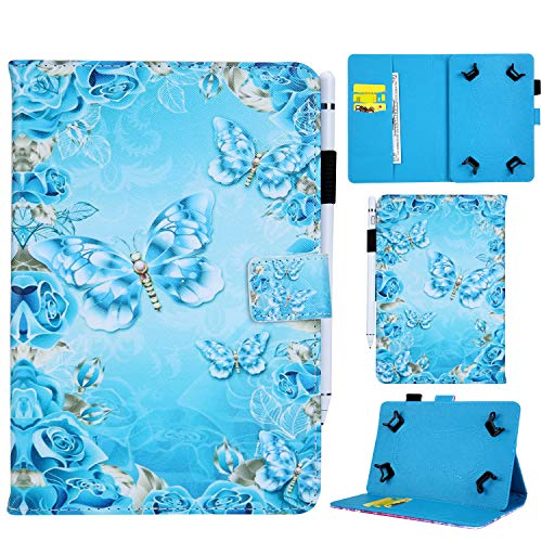 Funluna 7 Inch Universal Wallet Tablet Case Folio Leather Stand Cover for Samsung Galaxy Tab A6 7.0/Fire 7'/Acer Iconia One 7/Lenovo Tab E7/Lenovo Tab 7 Essential and More 7'' Tablets