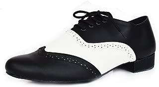 Extra Ancho 2 cm Ballroom Werner Kern Hombres Zapatos de Baile 28013 Cuero Negro