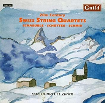 20th Century Swiss String Quartets with the casalQUARTETT Zurich