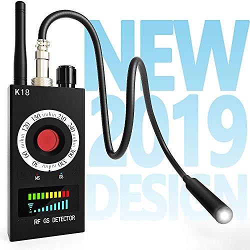 Ecardy Hidden Camera Detectors and Anti Spy RF Detector & Camera Finder, Bug Detector & Radio Frequency Signal Detector and Spy Finder