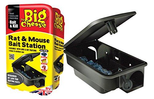 Preisvergleich Produktbild The Big Cheese wiederverwendbar Köderstation für Ratten und Mäuse