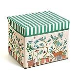 LBR- Caja Asiento Jardín No Aplica Baúles y Almacenamiento de Juguetes, Multicolor (54483)