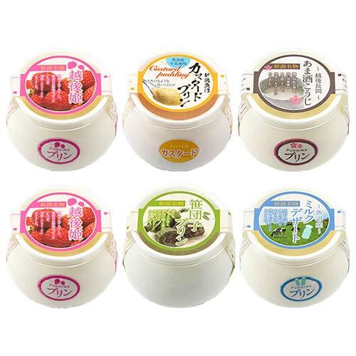冷凍プリン詰め合わせ 5種6個入り サンエツフーズ株式会社