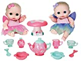 JC Toys Designed by Berenguer Baby Play Dolls, Pink, Purple, Green, 8.5'