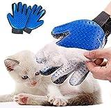 STARROAD-TIM Pet Grooming Glove Hair Remover Brush Gentle Deshedding...