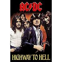 AC/DC エーシーディーシー (新譜パワーアップ発売記念) - Highway To Hell/ポスター 【公式/オフィシャル】