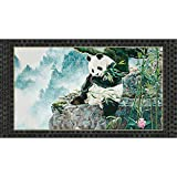 """24"""" Fabric Panel Imperial Panda Lush Forest Wallhanging Quilting Treasures For crafts by Alina Natetkova"""
