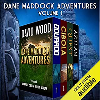 The Dane Maddock Adventures audiobook cover art