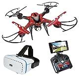 World BrandsXT280710 Next Drone avec Casque de réalité virtuelle