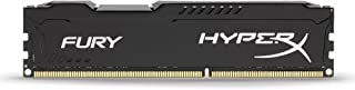 Kingston HyperX FURY 8GB 1600MHz DDR3 CL10 DIMM - Black (HX316C10FB/8)