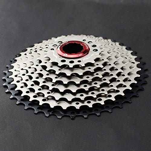 CYSKY 9-Fach Kassette 11-40T MTB Kassette 9 Speed Fit für Mountainbike, Rennrad, MTB, BMX, SRAM, Shimano