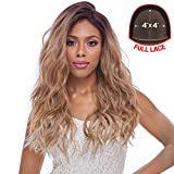 Harlem125 Synthetic Hair Lace Front Wig 4X4 Swiss Silk Base FLS11 (SGD4276)