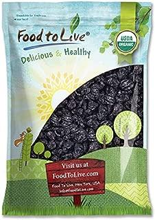 Organic Pitted Prunes, 10 Pounds — Dried California Plums, Non-GMO, Kosher, Unsulfured, Unsweetened, Bulk