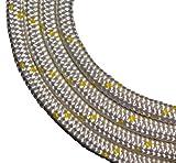 Schot-Tauwerk-Allroundleine 10mm Kennung gelb 25m