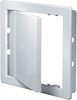 Access Panel 150x150mm (6x6inch) White ABS Plastic
