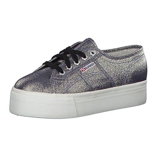 Superga Damen 2790-lamew Sneaker, Grau (Grey), 36 EU