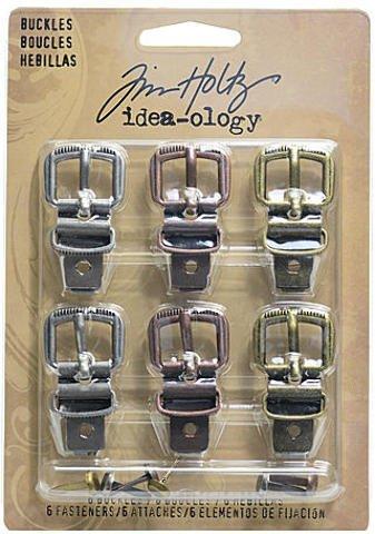 Tim Holtz Idea-Ology - Sujetadores (6 unidades, 6 sujetadores)