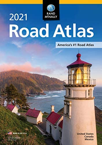 Rand McNally 2021 Road Atlas Rand Mcnally Road Atlas United States Canada Mexico product image