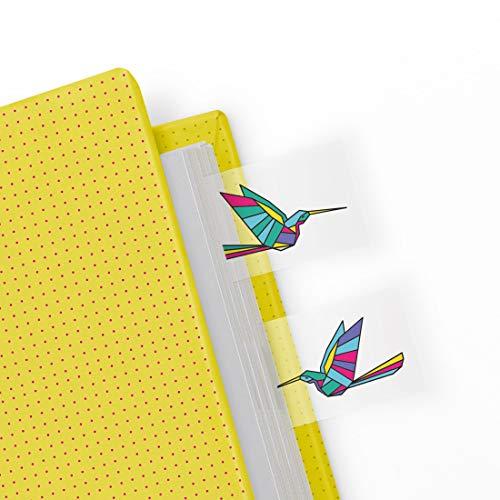 Mostaza Origami Página Marcadores