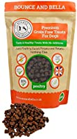 Bounce and Bella Grain Free Dog Training Treats - 800 Tasty & Healthy Treat Pack - 80% Fresh Poultry Meat, 20% Potato &...