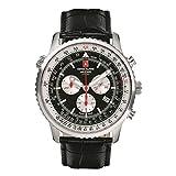 Swiss Alpine Military 7078.9537 chronograaf Heren horloge 45 mm