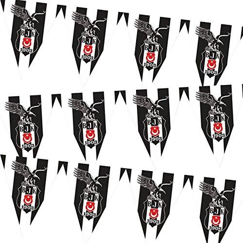 Besiktas Istanbul Party Wimpel Flagge Fahne - Geburtstagsfeier Feier