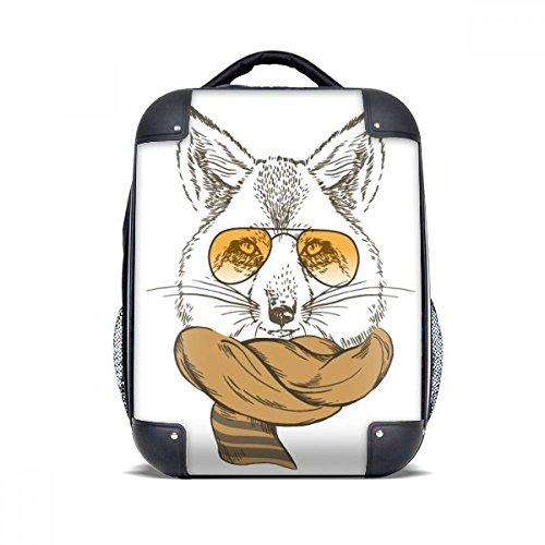 Britse stijl dier zachte wolf en sjaal dier harde case schouder dragen kinderen rugzak Gift 15