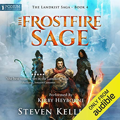 The Frostfire Sage cover art