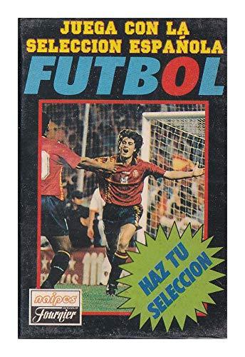 Naipes Heraclio Fournier Juego Cartas seleccion española Futbol 1996