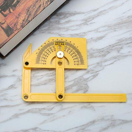 Westsell Measure Multi-Angle Ruler Template Tool 4 Colors Angle Measures All Angles Forms Angle-izer for Handymen Builders Craftsmen