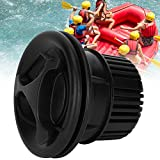 Taidda- 【2021 New Year's Special】 Black/Gray 3Pcs Inflatable Tent Air Valve, Rafts Air Valve, Safety Air Valve, Kayak Air Valve, 38x60mm Kayak Canoe Raft for Inflatable Boat/Tent(Black)