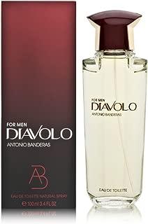 Antonio Banderas Diavolo Eau De Toilette Spray for Men, 3.4 Ounce