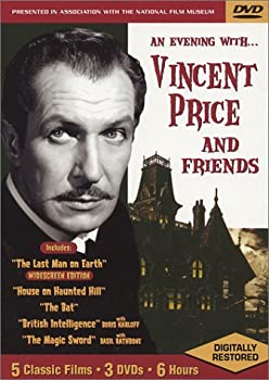 DVD An Evening with Vincent Price and Friends Book
