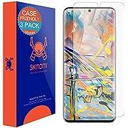 Skinomi MatteSkin kompatibel mit Samsung Galaxy S20 Displayschutzfolie, 3er Pack, Blendschutz, kompatibel mit Hüllen, case Friendly