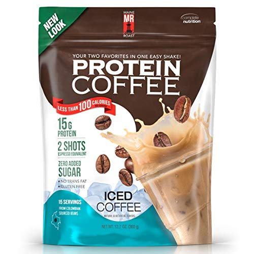 Complete Nutrition | Maine Roast Protein Coffee | Iced Coffee Flavor | 15g Whey Protein | 2 Shots Es - http://coolthings.us